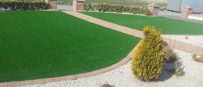artificial grass fit out donegal, ireland
