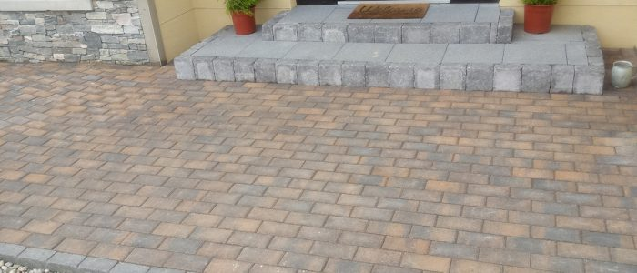 Landscaping Job by creative landscaping works