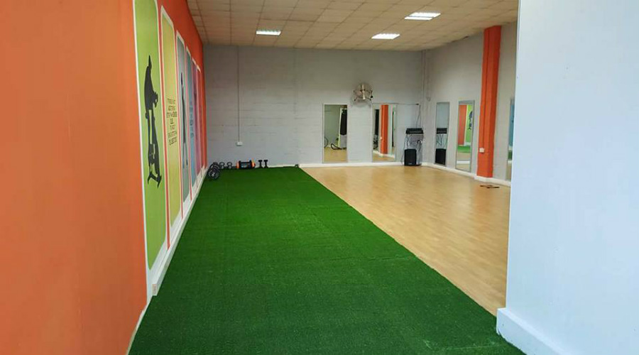 artificial grass for gym hall