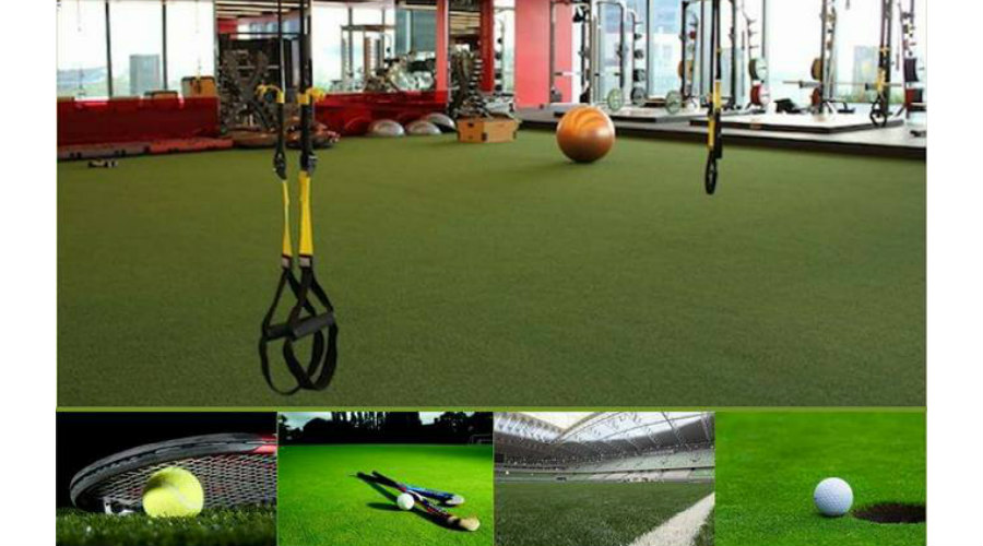 sports hall artificial grass floor
