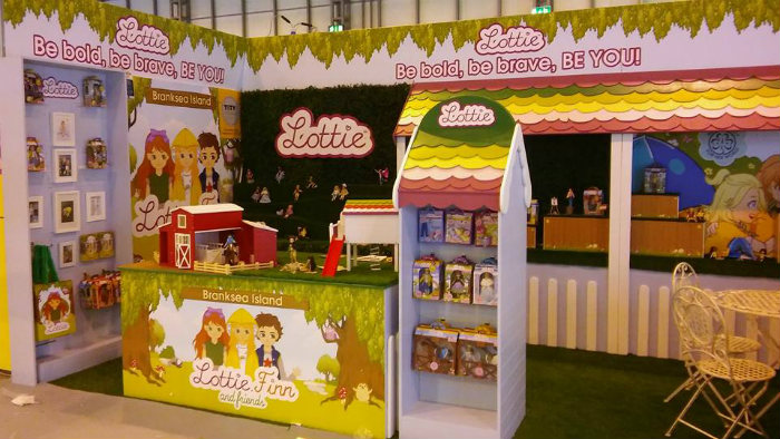 Arklu Lottie Dolls Exhibition shows