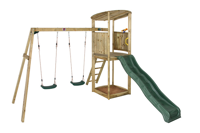 Playframes | Wooden Climbing Frames | Swings & Slides | Ireland