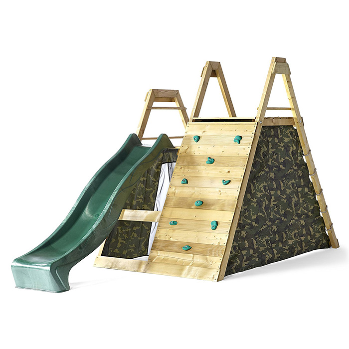 climbing pyramid and play centre