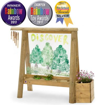 discovery create and paint easel for kids