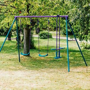 jupitar metal swing set