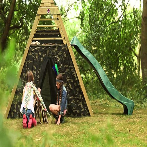 play centre and climbing frame
