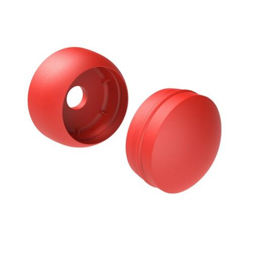 Plastic Bolt Covers red
