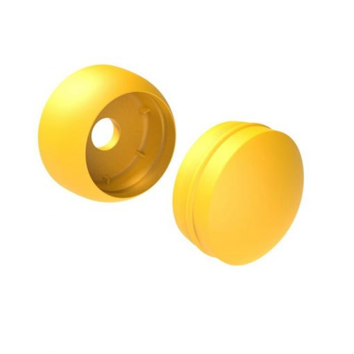 Plastic Bolt Covers yellow