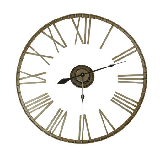 Extra large Wrought Iron Wall Clock