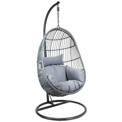 Egg Shaped Rattan Swing Chair