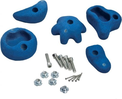 Climbing Stones 5 Pieces blue