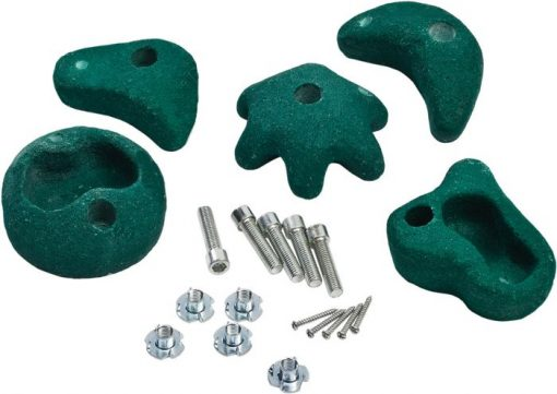 Climbing Stones 5 Pieces green